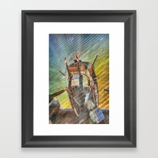 Armed Defender Framed Art Print