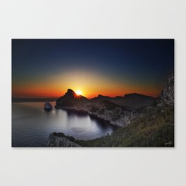 Dawn, Mirador es Colomer Canvas Print