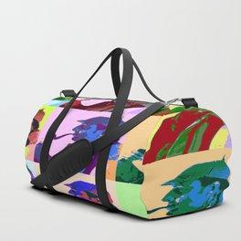 Sherlock Holmes Pop Art Duffle Bag