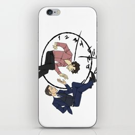 Hannibal & Will - Clock iPhone Skin