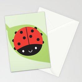 Kawaii Ladybird Stationery Cards