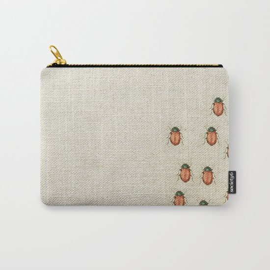 """Coletivo """"Besouros"""" Carry-All Pouch"""