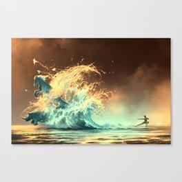 Mana tide Canvas Print