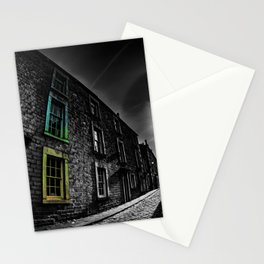 Colour in the Alley Stationery Cards