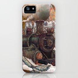 Hiver à Paris iPhone Case
