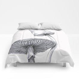 Mushrooms 1 Comforters