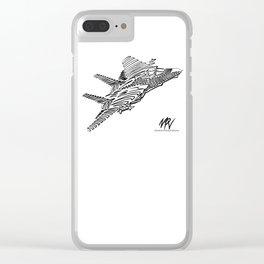 Top Line Clear iPhone Case
