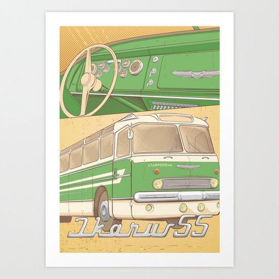 IKARUS 55 Art Print