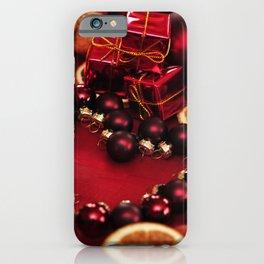 Holiday Christmas Christmas Ornaments Cinnamon Haz iPhone Case
