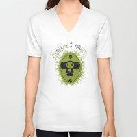 che V-neck T-shirts featuring che by kruzenshtern i parohod