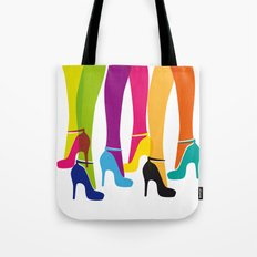 Bright High Heels Tote Bag