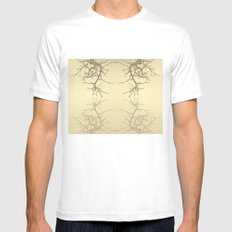 branches#06 MEDIUM Mens Fitted Tee White