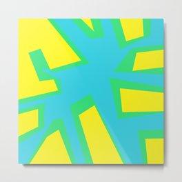 Tree Blue - Coral Series 003 Metal Print