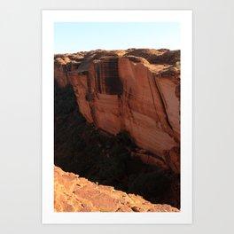 King's Canyon Cliff Art Print