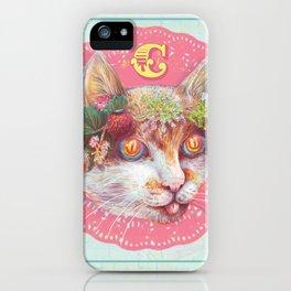 C cat iPhone Case