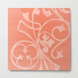 Rejas Pink Metal Print
