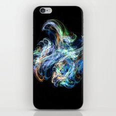 Space Flower iPhone & iPod Skin