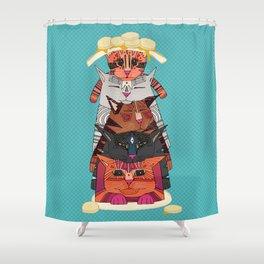 PANCATS Shower Curtain