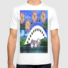 Painting fantasy  White Mens Fitted Tee MEDIUM