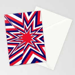 Fourth of July Burst Stationery Cards
