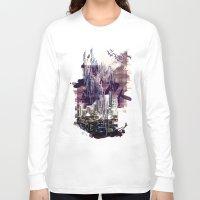 milan Long Sleeve T-shirts featuring street milan by Gabriele Omar Lakhal