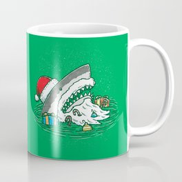 The Santa Shark Coffee Mug