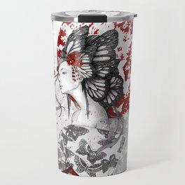 Madame Butterfly Travel Mug