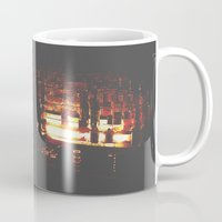 bar Mugs featuring Bar by ONEDAY+GRAPHIC