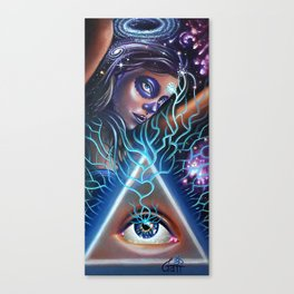 Thought Crime Canvas Print