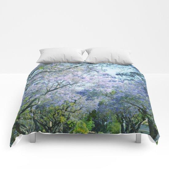 Jacaranda Canopy Comforters
