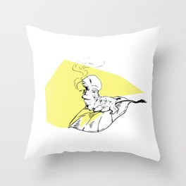 Tobacco Worm Throw Pillow