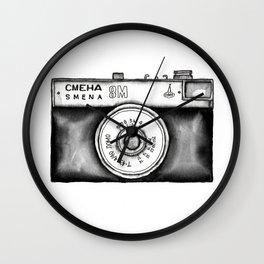Lomo Smena 8M Russian Camera Wall Clock