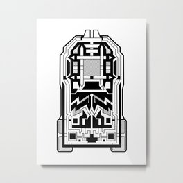 Monolith - Art Deco Design Metal Print