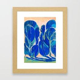 Poplars Framed Art Print