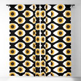 EYES_POP_ART_01 Blackout Curtain