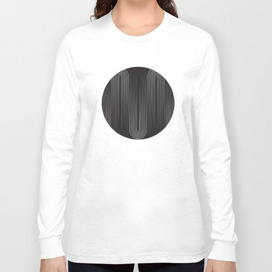 Upside Down Long Sleeve T-shirt