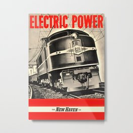 Electric Power Metal Print