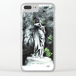 Iveagh Gardens Statue Clear iPhone Case