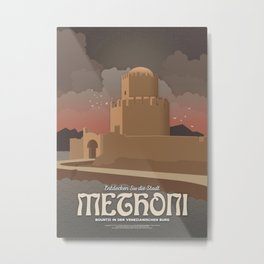Methoni, The Venetian Castle (GR) Metal Print