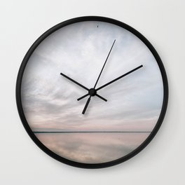 BLUE MOON XVIII / Alviso, California Wall Clock