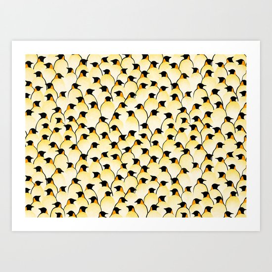 Penguins II Art Print