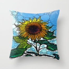 :: Sunshiny Day :: Throw Pillow
