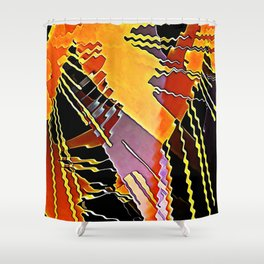 My Fission Electric Shower Curtain