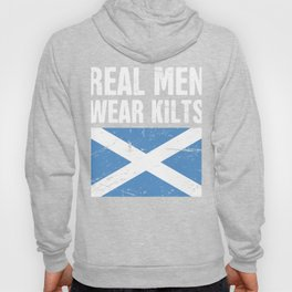 Scottish Flag | Real Men Wear Kilts Hoody