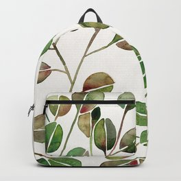 Silver Dollar Eucalyptus – Green Palette Backpack