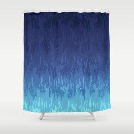 Meltdown Cold Shower Curtain