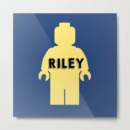 Riley Block Metal Print