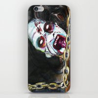 evil dead iPhone & iPod Skins featuring The Evil Dead  by Christopher Chouinard