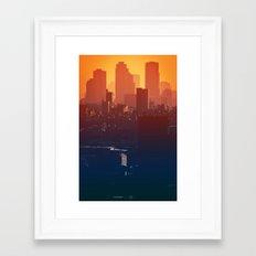 Eastern Seoul Framed Art Print