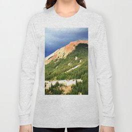Sunlight Before the Storm, on the Gold Mines of Red Mountain Long Sleeve T-shirt